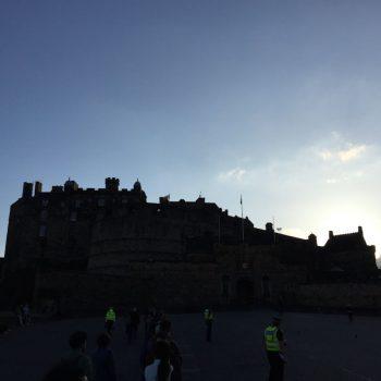 kasteel van Edinburgh - zeer hoge entreeprijs