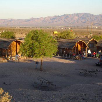cabin bij Calico ghosttown