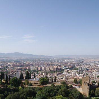 Granada vanaf Alhambra