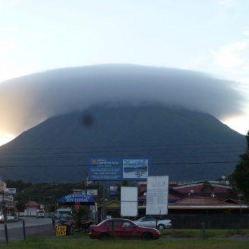 Uitzicht op Arenal vulkaan