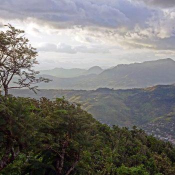 Uitzicht vanaf La Cruz Hill