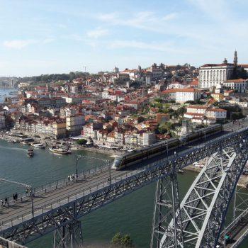 Uitzicht op brug