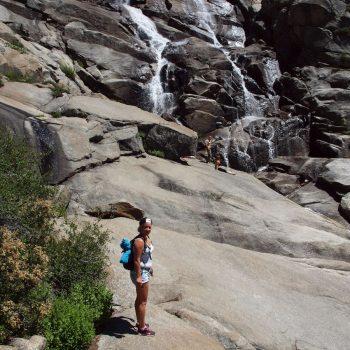 Tokopah Valley Trail eindpunt Tokopah Falls (sequioaNP)