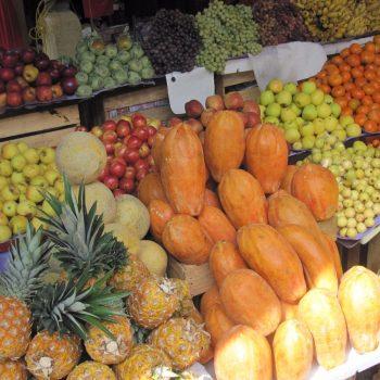 Producten op de markt van Tlacolula