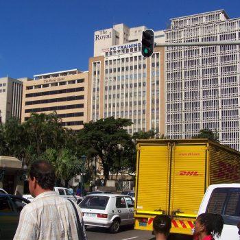 mooie gebouwen in Durban