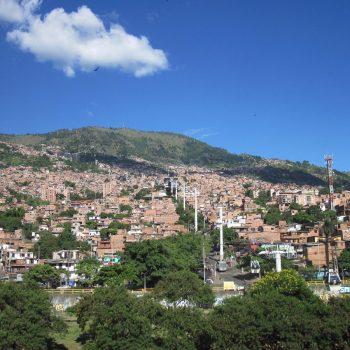Buitenwijken van Medellín