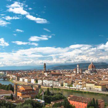 Uitzicht over Florence