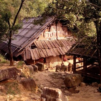 Het huis waar we overnachtten