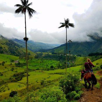 Paardrijden in Valle de Cocora