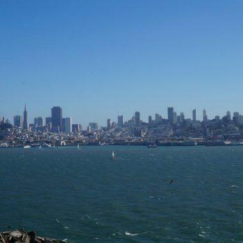 San fransisco view vanuit Alcatraz