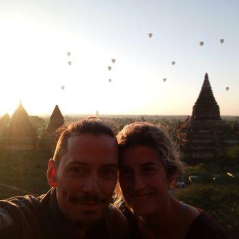 Bagan sunrise blijft prachtig!