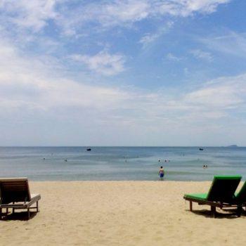 Het strand bij Hoi An
