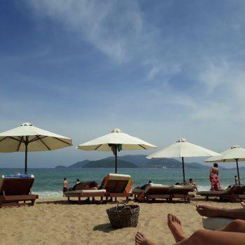 Strand bij Nha Trang