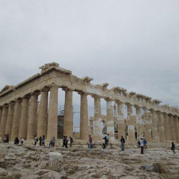 Niet te missen de Akropolis