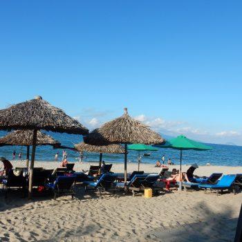 Het strand in Hoi An