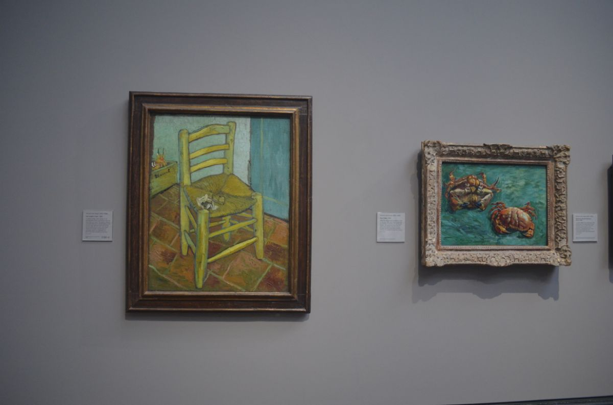 National gallery; prachtig van Gogh