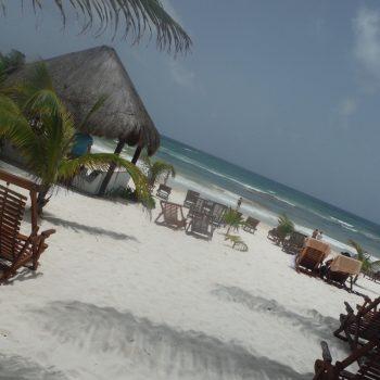 Strand bij tulum