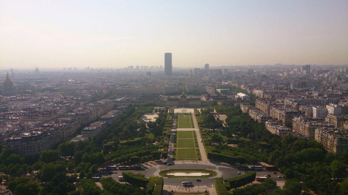 Uitzicht vanuit de Eiffeltoren