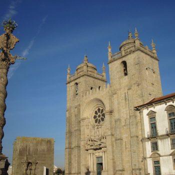 De kathedraal van Porto