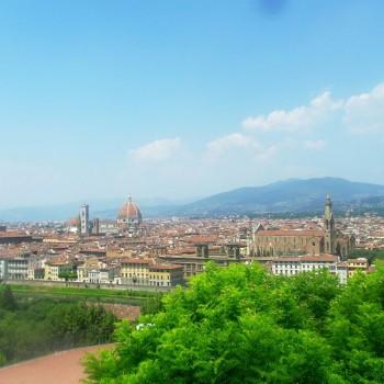 Mooi uitzicht over Florence