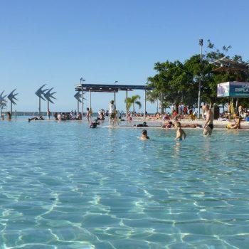 Openbaar zwembad in Cairns