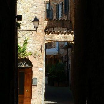 Doorkijkje in Perugia