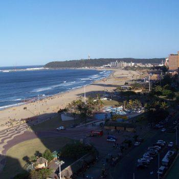 de veilige zone in Durban