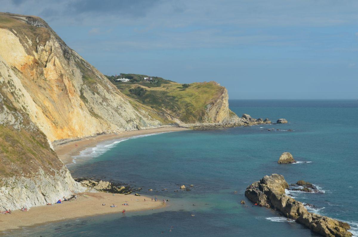Prachtige kust bij durdle door
