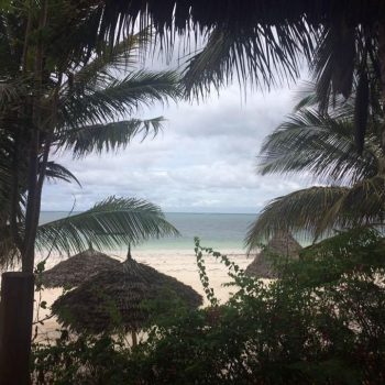 Uitzicht Pwani Mchangani