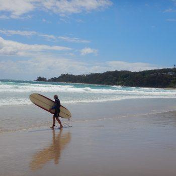 Surfen in Byron Bay voor jong en oud een favoriete sport
