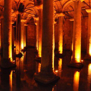 Basilica Cisterne, ondergrondse romeinse waterbron