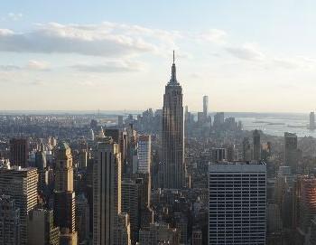 Rockefeller Center view