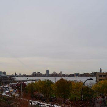 Gezien vanaf de High Line