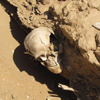 Menselijke resten nabij Walvis Bay