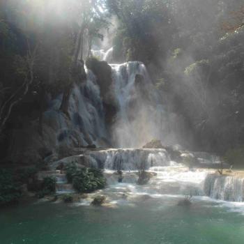 Kuang Si watervallen bij Luang Prabang