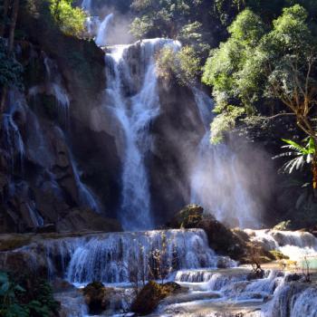 Waterval nabij Luang Prabang