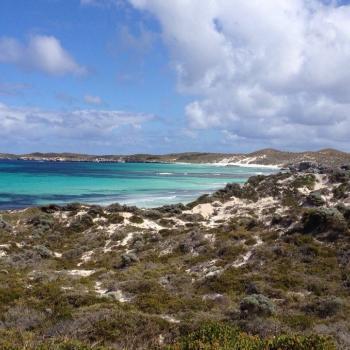 Strand aan de westkust (Rottnest Island, bij Perth)