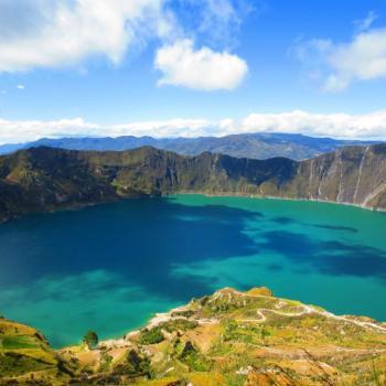 Quilotoa kratermeer
