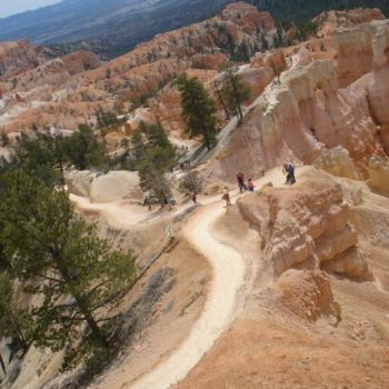 wandelroutes door Bryce Canyon