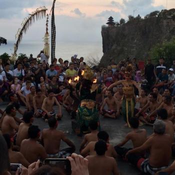 Balinese vuurdans Ulu Watu Temple