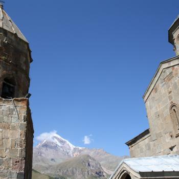 Tsaminda Sameba kerk, Kazbeki