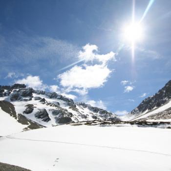Richting Glacier Martial