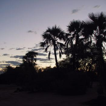 Palapye zonsondergang