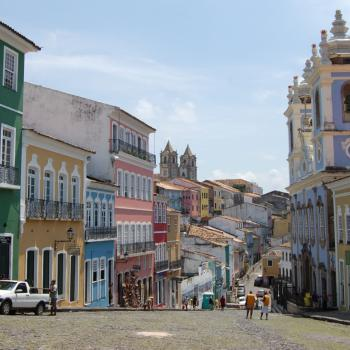 Oud koloniaal centrum in Salvador