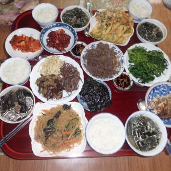 Heerlijk eten in Korea. Wat een gastvrijheid!