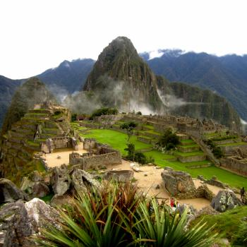Prima uitzichtje op Machu Picchu
