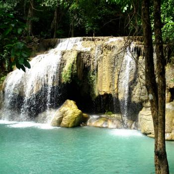 Erawan Waterfalls in Kanchanaburi
