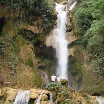 Kuang Si Falls bij Luang Prabang