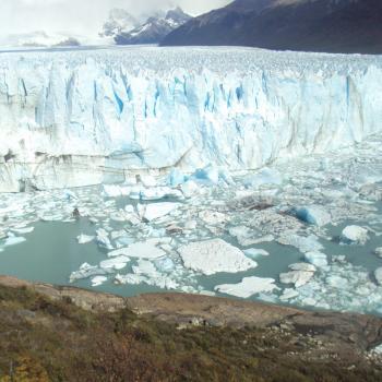 Het ijs-geweld van Perito Moreno