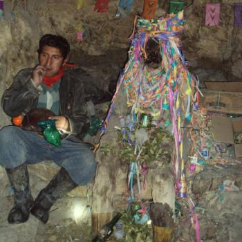 El Tio en de mijnen van Potosí